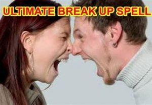 break up spell