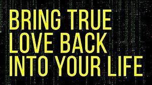 Bring Back Lover